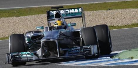 Mercedes 2013 - Barcellona