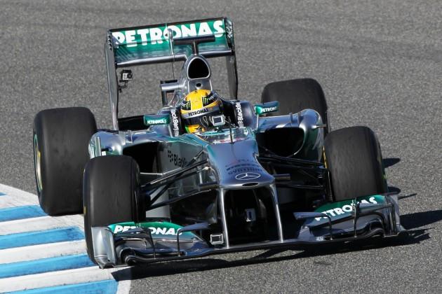 Mercedes Hamilton 2013