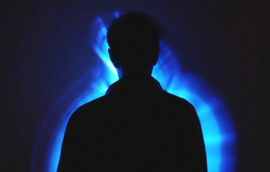 fotografare un'aura