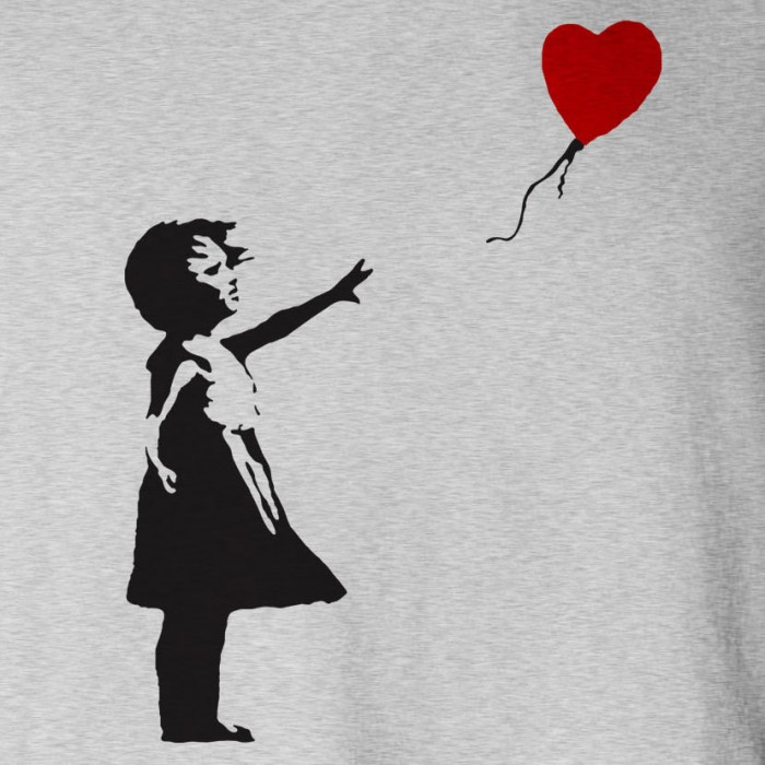 banksy balloon girl   spt hood cu