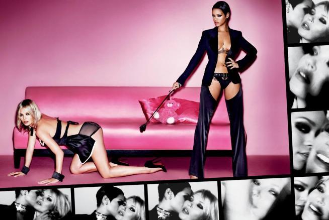 Rihanna e Kate Moss Nude e Provocanti