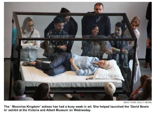 Tilda Swinton al MoMA