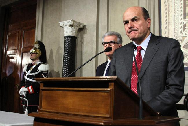 nuovo governo 2013 bersani