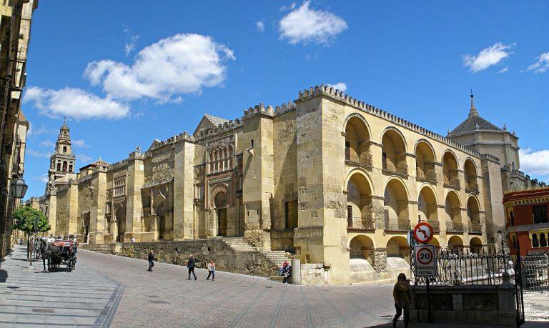 Muro esterno della moschea