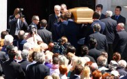 Milano, i funerali di Ottavio Missoni