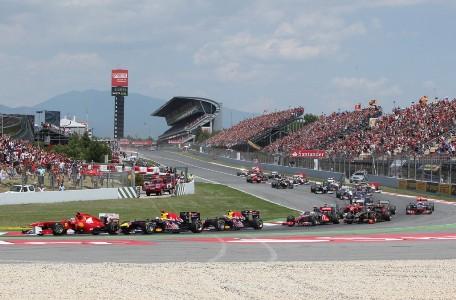 Race Start Spanish Formula One GP 2011 1024x674