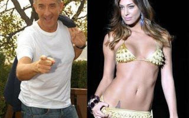 1212763 Belen Rodriguez Francesco Facchinetti ed Ezio Greggio il tris per Sanremo h partb thumb big