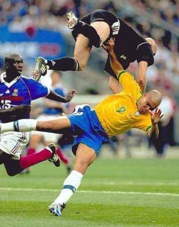 foto sport calcio brasile francia
