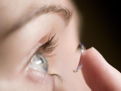 lente contatto