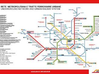 cartina metro