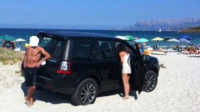 suv spiaggia pittulongu