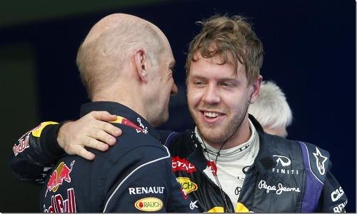 Vettel e Newey