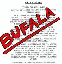 Bufala del 0141455414