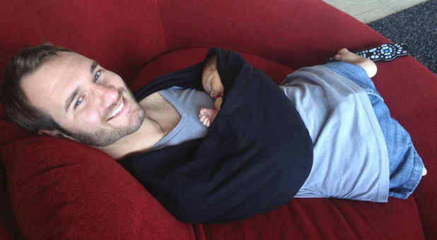 Nick Vujicic baby Kiyoshi Facebook