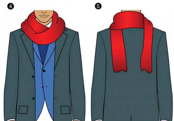 11 ways to tie a scarf 22