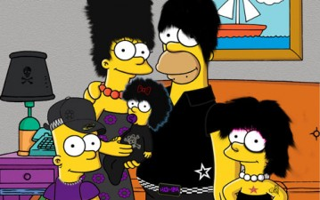 Emo Simpsons by ScreamPIX