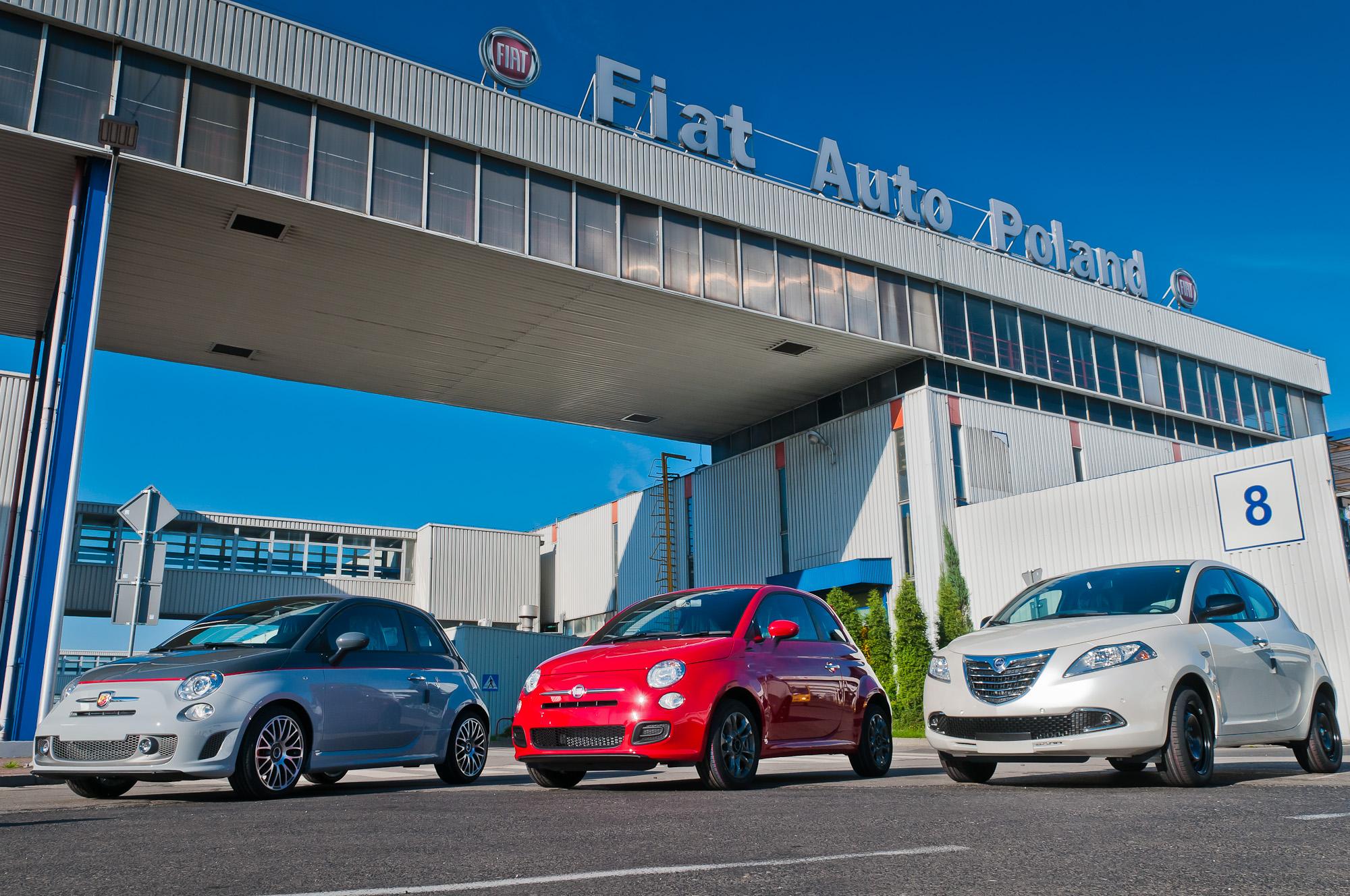 FIAT ABARTH_FIAT 500_LANCIA YPSILON_FAP TYCHY