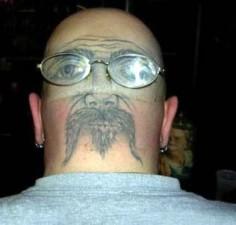 350 tattooface