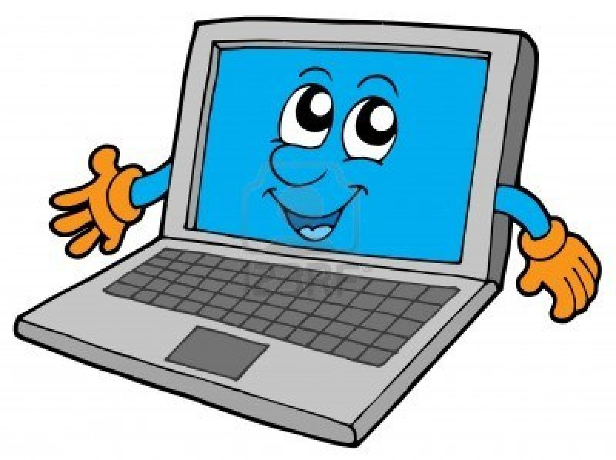 3694821-cute-laptop-on-white-background-vector-illustration