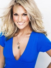 carrie-underwood-sexy-blue-top-cute-smile-blown-away-2012