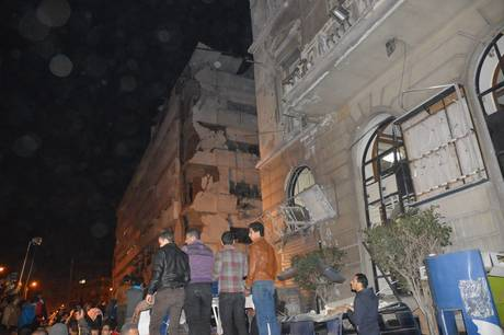 14 killed in Egypt in bombing at a security building in Egypt