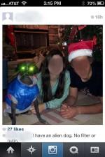 funny instagram comments alien
