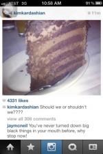 funny instagram comments kardashian