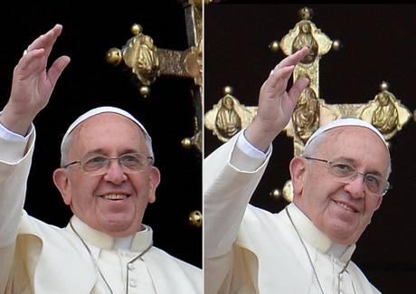 Papa Francesco benedice