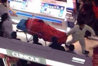 suicida centro commerciale shopping 21