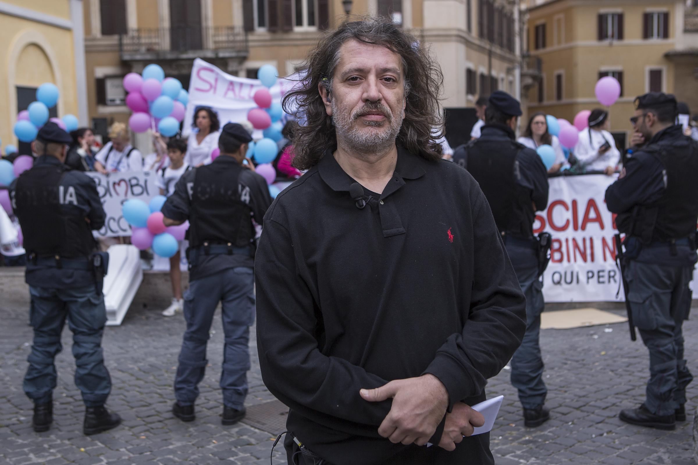 Manifestazione in sostegno del metodo Stamina