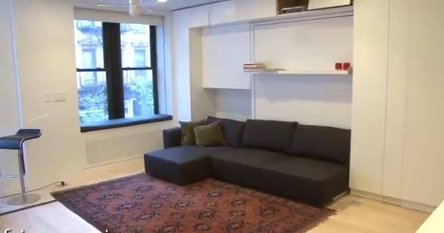Appartamento di 37 mq come fosse di 100 mq for Scala metri quadrati