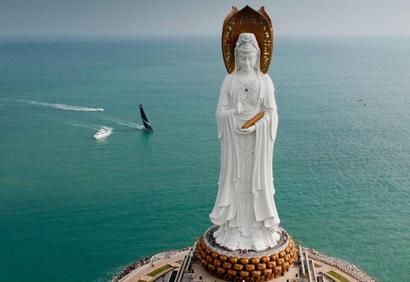 5 guan yin del mar cinese meridionale sanya cina108 metri