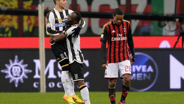 Milan Udinese 1-2