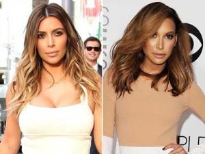 Kim Kardashian -Naya Rivera