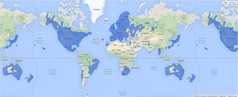 Dove è possibile utilizzare Google Street View