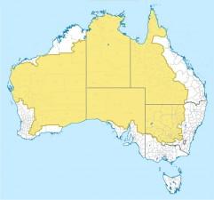 Dove vive il 2% della popolazione dell'Australia