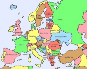 La traduzione letteraria in cinese dei nomi degli stati europei