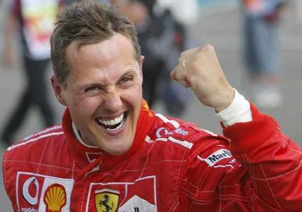 Condizioni stabili per Schumacher
