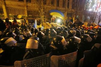 Proteste e scontri a Kiev in Ucraina