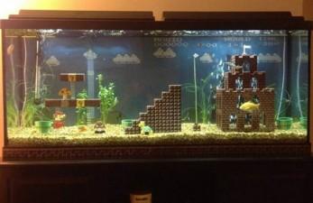 super mario aquarium 1