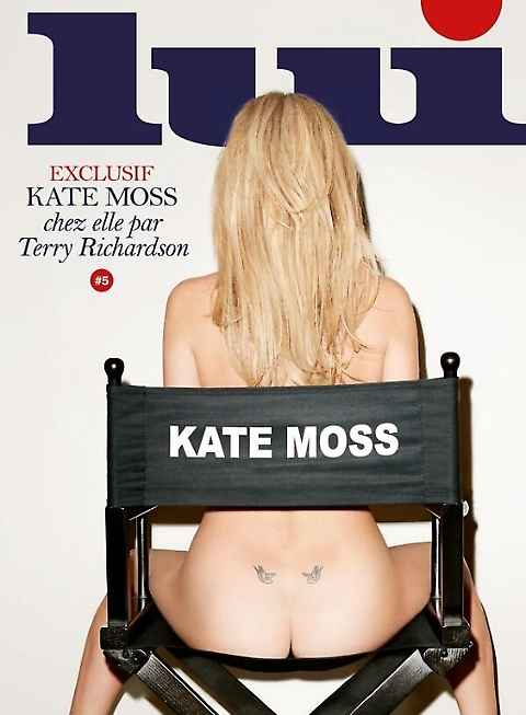 Kate Moss tutta nuda per Lui