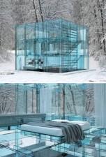 la casa di vetro a milano