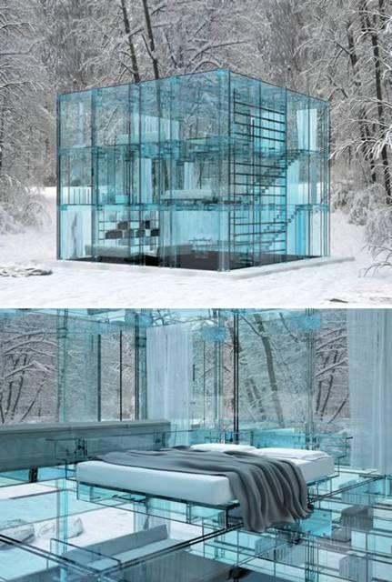 La casa di vetro a milano 10 splendide costruzioni in for Casa di vetro moderna in vendita