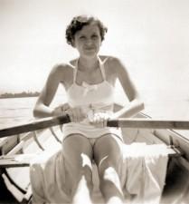 Eva Braun Rowing