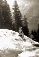 Eva Braun Sunbathing