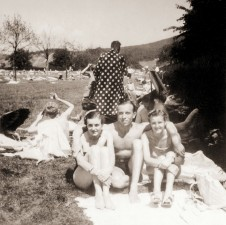Eva Braun On Holiday