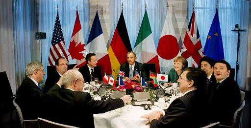 Ucraina/ *G7: nuove sanzioni se Russia non ferma escalation crisi Ucraina