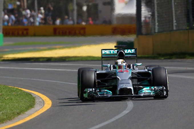14.03.2014- Free Practice 1, Lewis Hamilton (GBR) Mercedes AMG F1 W05