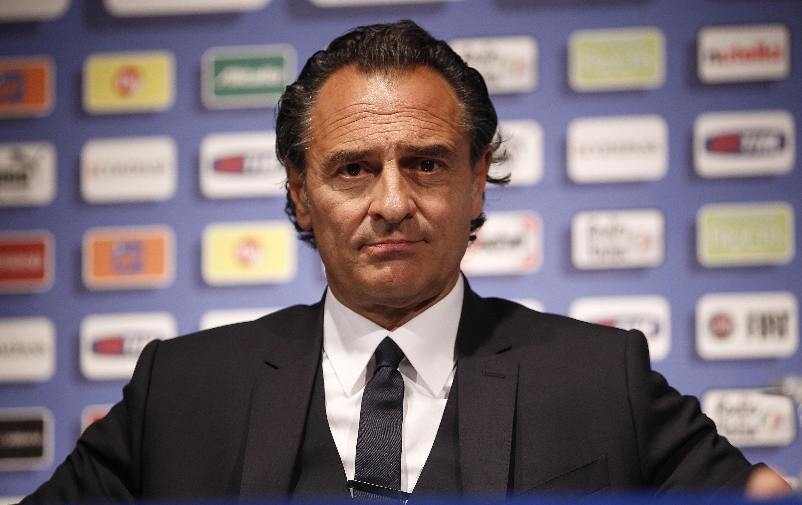 UEFA EURO 2012: ITALY NATIONAL TEAM; CESARE PRANDELLI PRESS CONFERENCE