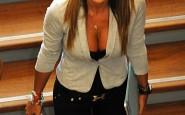 Nicole Minetti al consiglio regionale della Lombardia